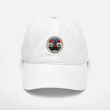LA County Seal with Cross Baseball Baseball Cap