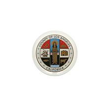 LA County Seal New Style Mini Button