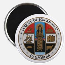 LA County Seal New Style Magnet