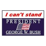 Bush Rectangle Sticker