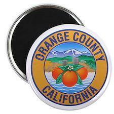 Orange County California Magnet