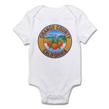 Orange County California Infant Bodysuit