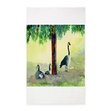 Canadian Geese 3'x5' Area Rug