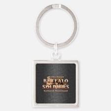 ABH Buffalo Soldiers Square Keychain