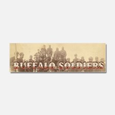 ABH Buffalo Soldiers Car Magnet 10 x 3
