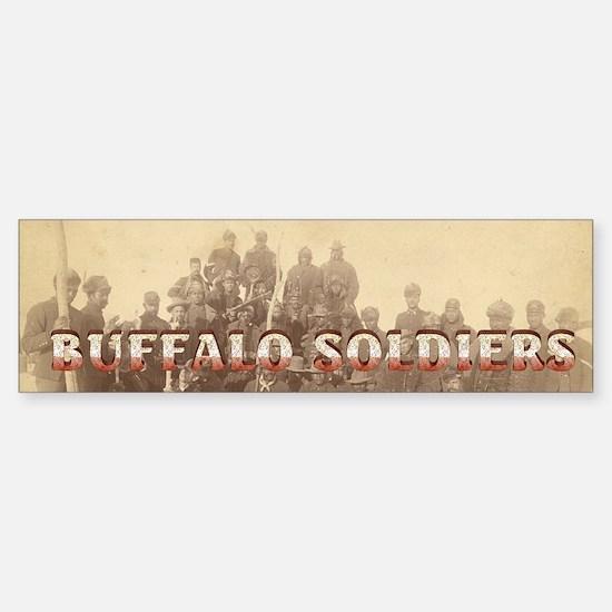 ABH Buffalo Soldiers Sticker (Bumper)