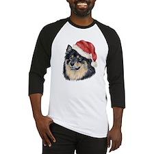 Christmas Finnish Lapphund Baseball Jersey