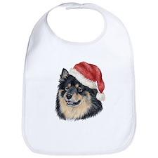 Christmas Finnish Lapphund Bib