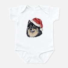 Christmas Finnish Lapphund Infant Bodysuit