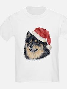 Christmas Finnish Lapphund Kids T-Shirt
