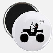 Jeep Dude Stickman 1 Magnet
