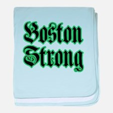 Boston Strong baby blanket