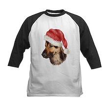 Christmas German Shepherd dog Tee