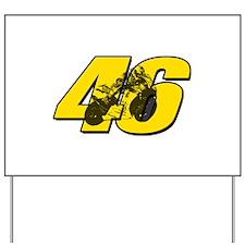 46ghostmini Yard Sign