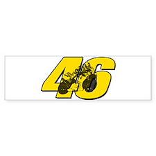 46ghostmini Bumper Bumper Sticker