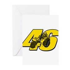 46ghostmini Greeting Cards (Pk of 10)
