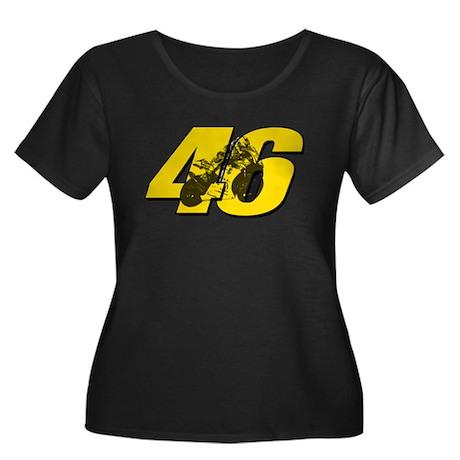 46ghostmini Plus Size T-Shirt