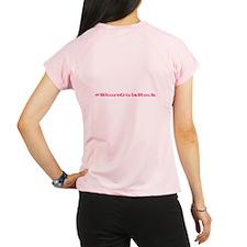 Short Girls Peformance Performance Dry T-Shirt