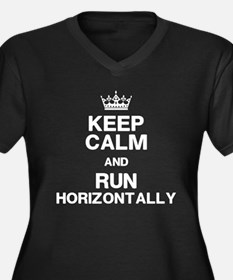 Pitch Perfect Horizontal Running Plus Size T-Shirt