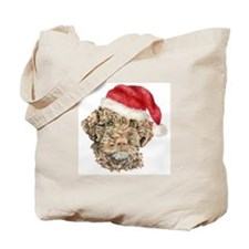 Christmas Lagotto Romagnolo Tote Bag