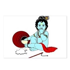 Bal Krishna Postcards (Package of 8)