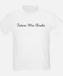 Future Mrs Drake Kids T-Shirt