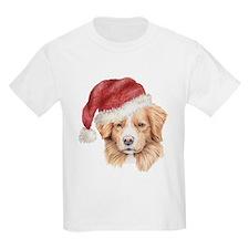 Christmas Nova Scotia Duck To Kids T-Shirt