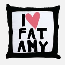 Pitch Perfect Fat Amy Throw Pillow