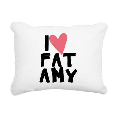 Pitch Perfect Fat Amy Rectangular Canvas Pillow
