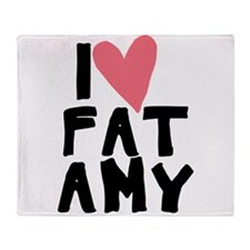 Pitch Perfect Fat Amy Throw Blanket