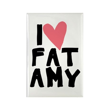 Pitch Perfect Fat Amy Rectangle Magnet