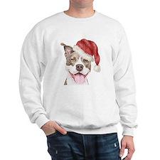 Christmas Pit Bull Terrier Sweatshirt