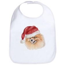 Christmas Pomeranian Bib