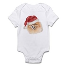 Christmas Pomeranian Infant Bodysuit