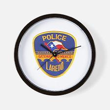 Laredo Police Wall Clock