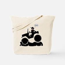 Boggin DUDE Stickman Image Tote Bag