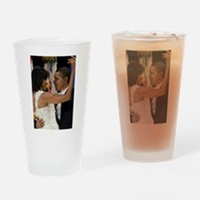 Barack and Michele Obama Drinking Glass