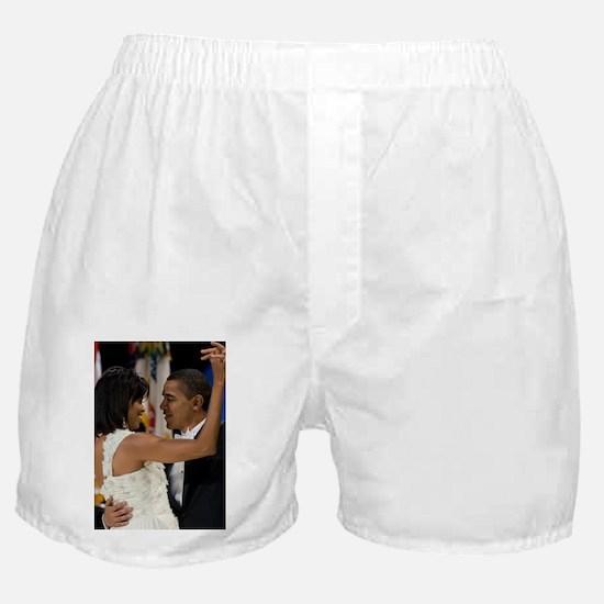 Barack and Michele Obama Boxer Shorts