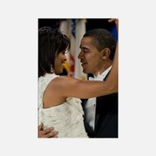 Barack and Michele Obama Rectangle Magnet