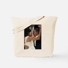 Barack and Michele Obama Tote Bag