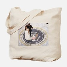 Barack and Michele Obama Tote Bag
