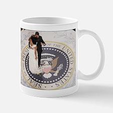 Barack and Michele Obama Mug