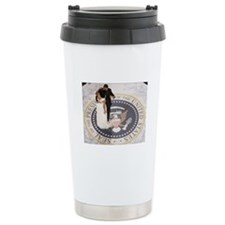 Barack and Michele Obama Travel Mug