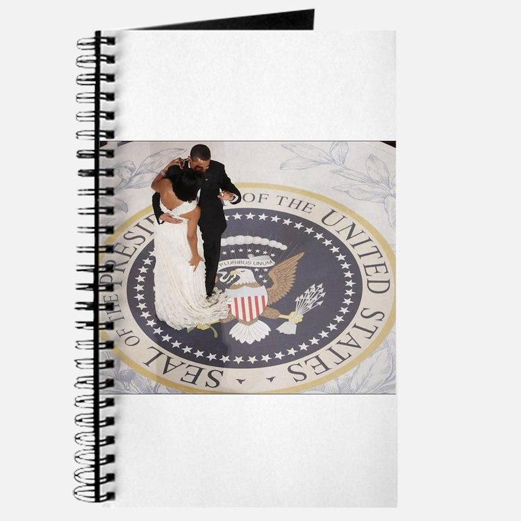 Barack and Michele Obama Journal