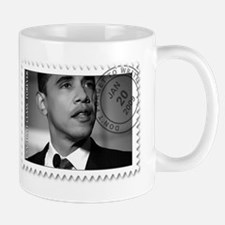 Obama Black and White Design Mug