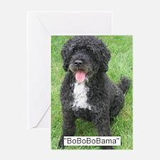BoBoBoBama Greeting Card