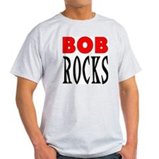 ROCK NAME Ash Grey T-Shirt