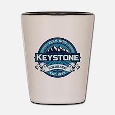 Keystone Ice Shot Glass