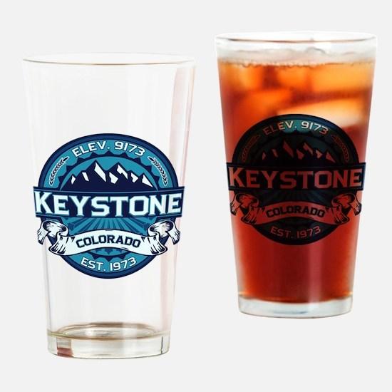 Keystone Ice Drinking Glass