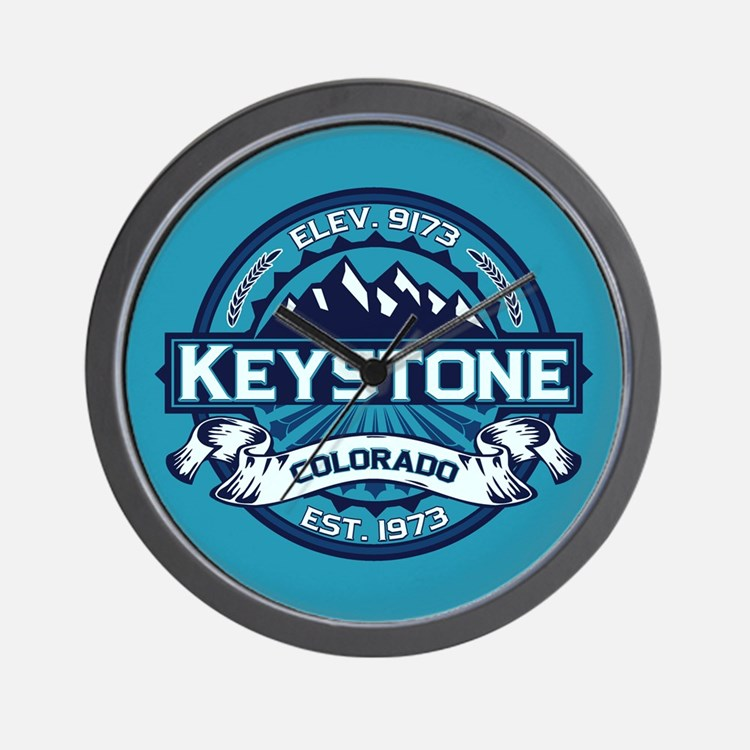 Keystone Ice Wall Clock